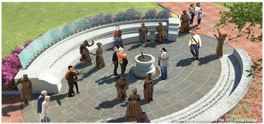 Concept by StudioEIS and the 1717 Design Group. (Photo from the Women's Monument Commission)